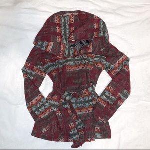 Aztec Wool Jacket